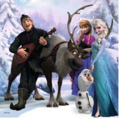 Blauwe Ravensburger Disney Frozen Memory + Puzzel
