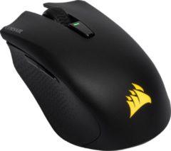 Zwarte Corsair HARPOON RGB Wireless Optical Gaming Mouse - Backlit RGB LED - 10000 DPI