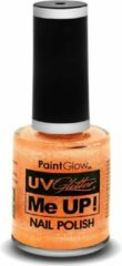 PaintGlow UV Glitter nagellak peach Paradise ( Oranje )