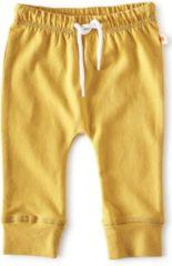 Little Label - baby - broekje - warm geel - maat 50 - bio-katoen