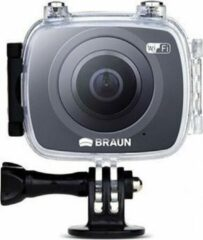 Zwarte Braun Phototechnik Braun Photo Technik Action cam Champion 360