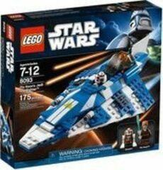 Blauwe LEGO Star Wars Plo Koon's Jedi Starfighter - 8093