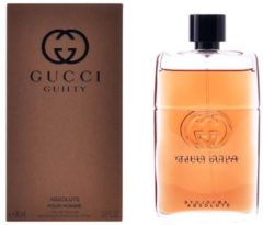 Gucci Guilty Absolute pour Homme - 90 ml - eau de parfum spray - herenparfum