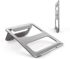 YONO Universele Ergonomische – Laptop Standaard voor oa Macbook – Aluminium Laptophouder – Zilver