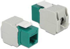 Groene DeLOCK 86349 kabeladapter/verloopstukje