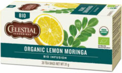 Celestial Seasonings Celestial Season Organic Lemon Moringa Bio Infusion (31g)