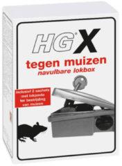 Grijze HGX muizen lokbox (Toelatingsnummer Nederland:NL-0018191-0000)
