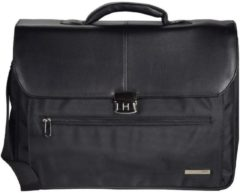 Basic Aktentasche 45 cm Laptopfach D&N schwarz