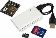 Grijze Unknown D USB 2.0 All in Card reader