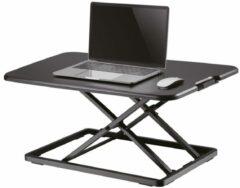 Zwarte NewStar Workstation - sit-stand workplac