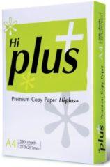 Witte Hi-Plus Hi plus paper printerpapier HI+ KOPIEERPAPIER A4 75G 500V