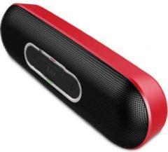 ILuv Rollick kompakter Designer Bluetooth Stereo Lautsprecher - rot
