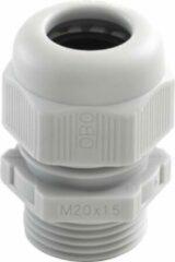 Licht-grijze Niko - Hydro wartel M20 grijs - 700-84001