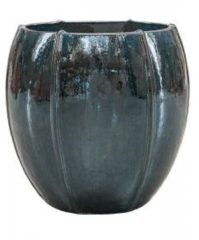 Ter Steege Moda bowl bloempot 55x55x55 cm oceaanblauw