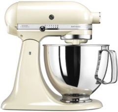 Beige KitchenAid Keukenmachine Artisan 5KSM150PSEAC, crème, incl. extra accessoires ter waarde van ca. € 214,