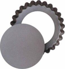 Pyrex Asimetria Taartvorm - Metaal - Set van 4 Stuks - Bruin