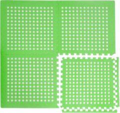 Eyepower Eva gaasmat 62x62cm zwembadmat 62x62cm ondertapijt voor zwembad groen