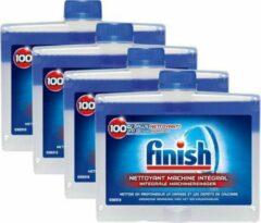 Finish - Regular - Vaatwasmachinereiniger - 4 x 250 ml