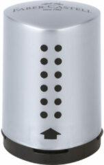 Faber-Castell 183700 potloodslijper Handmatige puntenslijper Zwart, Zilver