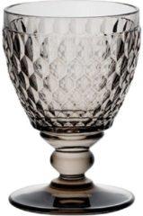 Grijze Villeroy & Boch Boston coloured Witte wijnglas Smoke - 12 cm - 0,23 l