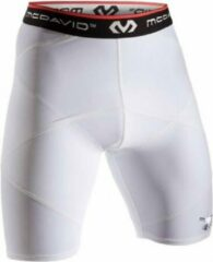 McDavid 8200R - Cross Compression Short - Wit - Large