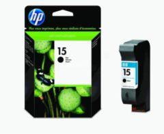 HP inktcartridge 15, 500 pagina's, OEM C6615DE, zwart