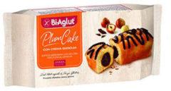 BiAglut Plumcake con crema gianduia 4 monoporzioni