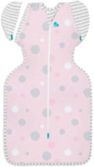 Love to Dream Stage 2 Swaddle UP Transition Bag inbakerslaapzak LITE Medium pink/roze