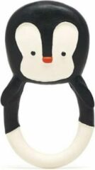 Lanco Toys Lanco Rubberen Bijtring Nui the Pinguin zwart wit