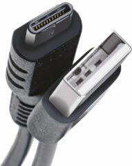 Celly USB-C2M 2m USB A USB C Mannelijk Mannelijk Zwart USB-kabel