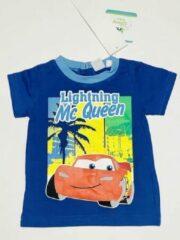 Disney Cars t-shirt - donkerblauw - maat 68 (6 maanden)