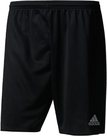 Afbeelding van Zwarte Adidas Parma 16 Shorts Heren Sportbroekje - Black/White - Maat XL