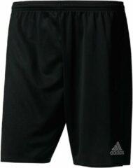 Zwarte Adidas Voetbaltrainingsshort volwassenen Parma zwart