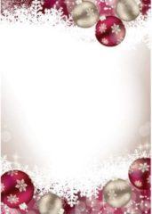 Sigel DP041 Motivpapier kerst Frozen DIN A4 90 g/m² Meerdere kleuren 100 vellen