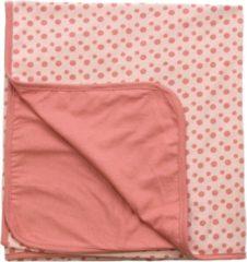 Roze Snoozebaby wiegdeken zomer 75x100 cm dusty rose