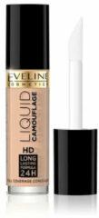 Huidskleurige Eveline Cosmetics Eveline - Liquid Camouflage HD Long Lasting Formula 24h korektor kryjący do twarzy 02 Natural 5ml