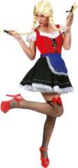 Rode Funny Fashion Boeren Tirol & Oktoberfest Kostuum | Brauhaus Babe Berthilde | Vrouw | Maat 40-42 | Carnaval kostuum | Verkleedkleding