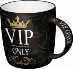 Zwarte Bellatio Mok VIP 33 cl
