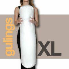 Zandkleurige Gulings Rolkussen - Guling XL - met sloop - zand