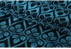 Blauwe Yaro La Vita Blue-Black Linen -- 5.2m Maat 7