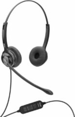 Zwarte Axtel Headsets Axtel MS2 duo NC USB voor PC/Laptop - Home Office Headset