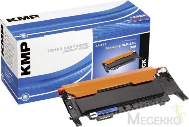 Afbeelding van Zwarte KMP Toner Samsung CLT-K4072S black 1500 S. SA-T38 remanufactured