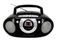Soundmaster SCD5100SW CD boombox met radio en cassettespeler zwart