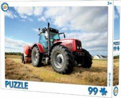Toy Universe Tractor puzzel - 99 stuks - Trekker puzzle - 33 x 22 cm.