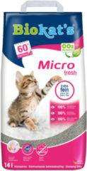 Biokat's Micro Fresh - Kattenbakvulling - 14 l 13.3 kg