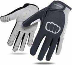 Buzz Products Mtb,Bmx Fiets en Motor Handschoenen - Maat L - Grijs - Outdoor - Unisex