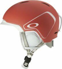 Koraalrode Oakley MOD3 Snow Helmet - Matte Neon Coral