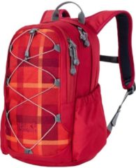 Jack Wolfskin Kids Kinderrucksack Kids Grivla Jack Wolfskin 7941 indian red woven check