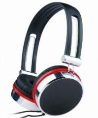 Gembird MHS-903 Stereofonisch Hoofdband Zwart, Rood, Zilver hoofdtelefoon