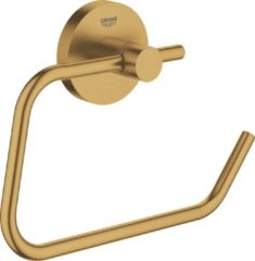 GROHE Essentials Toiletrolhouder - Cool sunrise geborsteld (mat goud)